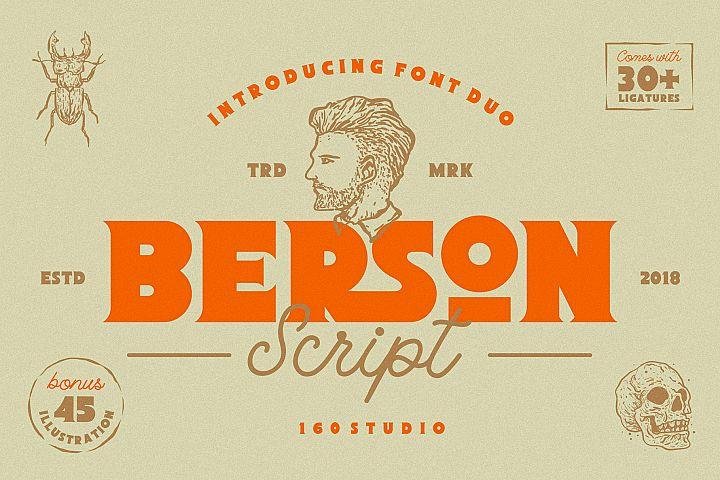 Berson Font Duo