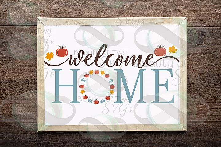 Fall Welcome Home svg, Hello Fall svg, autumn svg