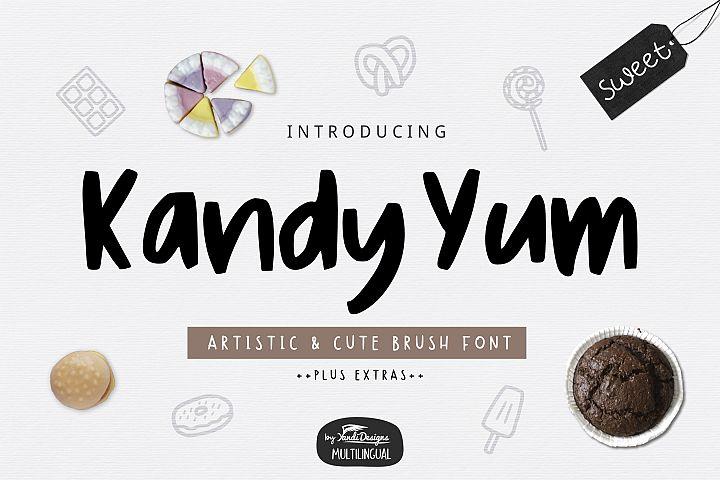 Kandy Yum Font