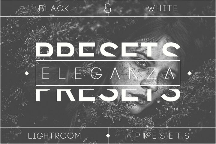Eleganza | 74 Black & White Lightroom Presets