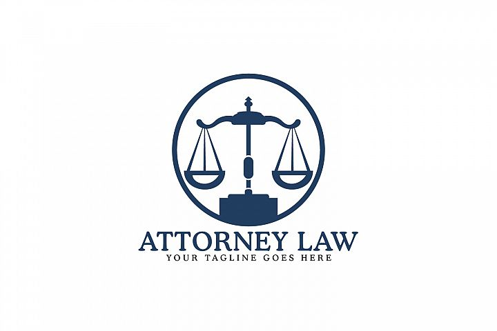 Attorney Law Logo Design.