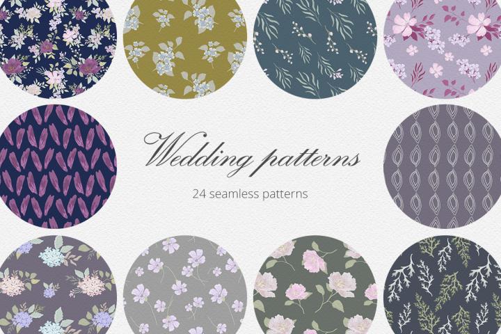 Wedding Patterns Set