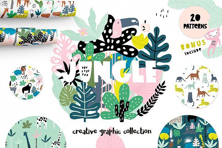 Jungle!Creative summer pack