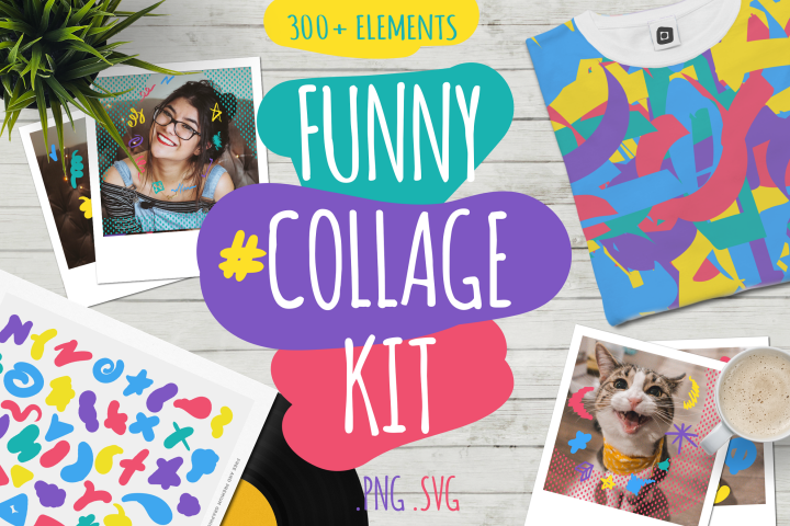 Funny Collage Kit