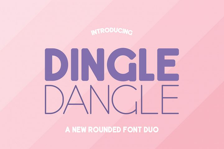 Dingle Dangle Font Duo