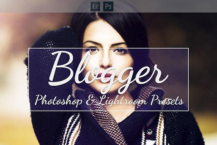 Blogger - Lightroom & Camera RAW Presets