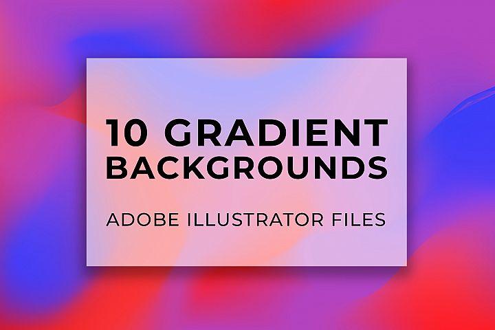 Futuristic Gradient Backgrounds