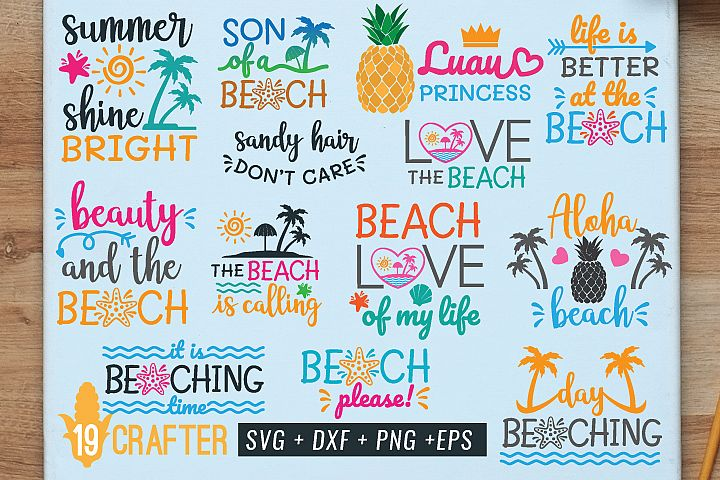 summer in the beach svg the best value bundle