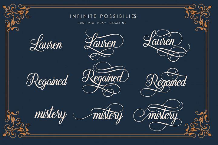 Beradon Script - Elegant Wedding font - Free Font of The Week Design3