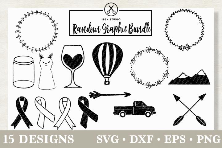 Graphics SVG Bundle - MB12