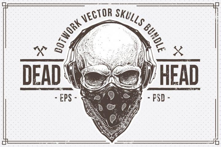 Dead Head   Skulls Bundle