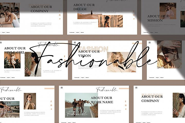 Claudia Keynote Template