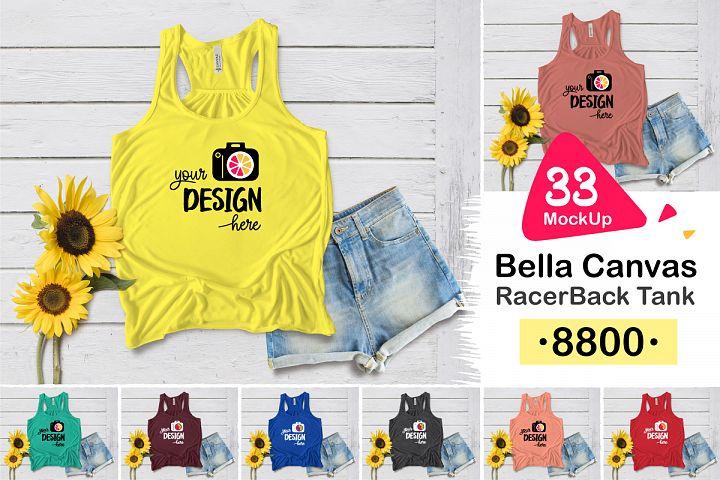 8800 Bella Canvas RacerBack Tank 002
