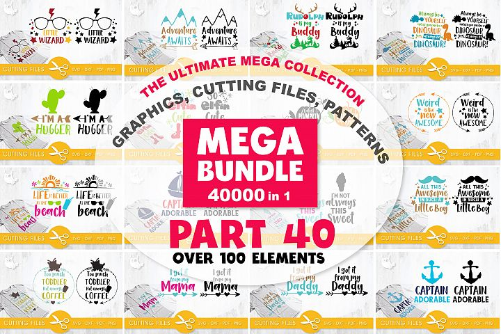 MEGA BUNDLE PART40 - 40000 in 1 Full Collection