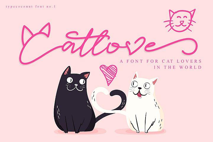 Catlove Lovely Font