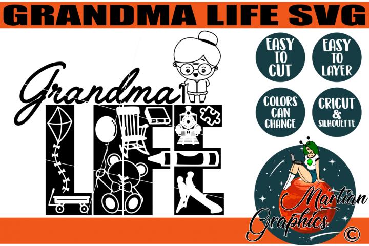 Grandma/Granny Life SVG