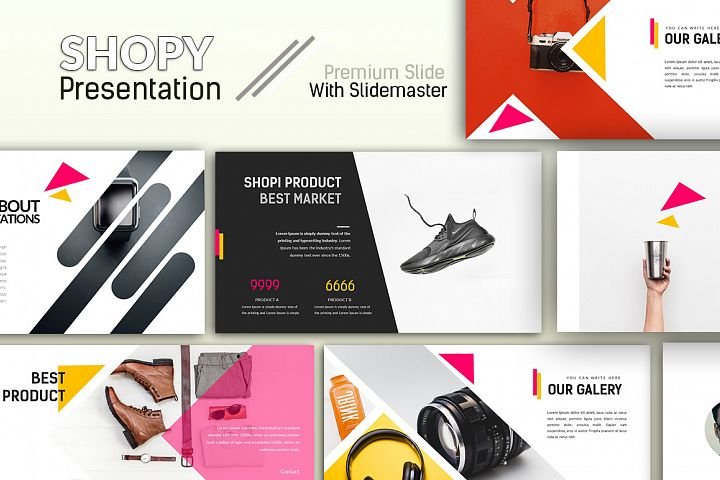 Shopi Creative Powerpoint