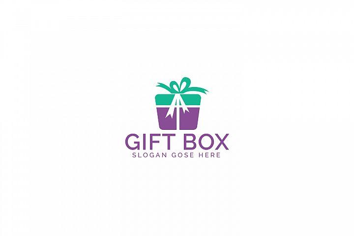 Gift Box Logo Design.