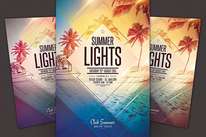 Summer Lights Flyer