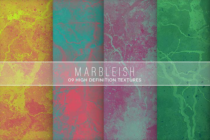 Marbleish