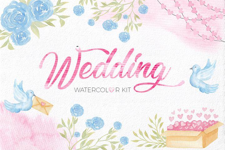 Wedding Watercolor Set