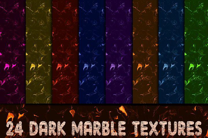 24 Dark Marble Textures Version II