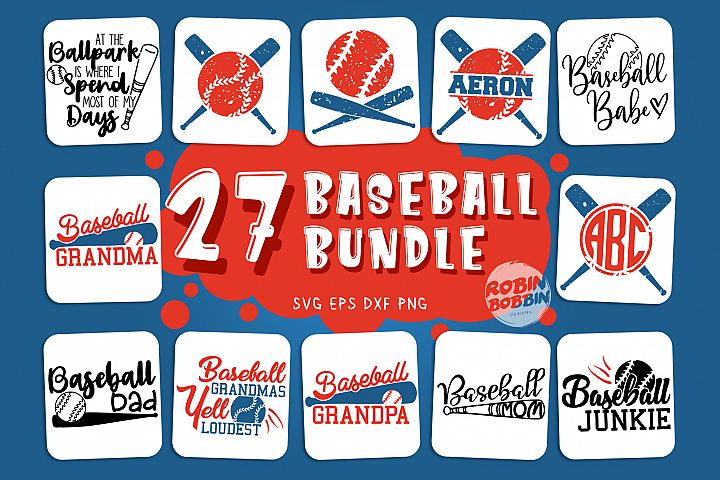 Big Baseball Bundle vol.1 - Baseball SVG Bundle