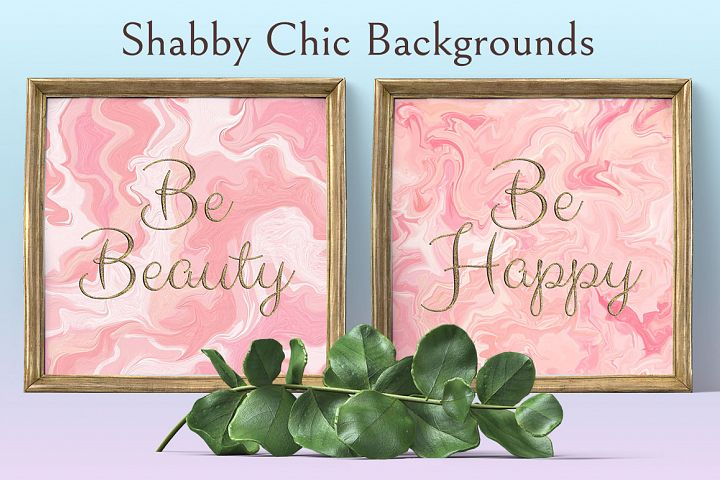 Shabby Chic Backrounds example 1