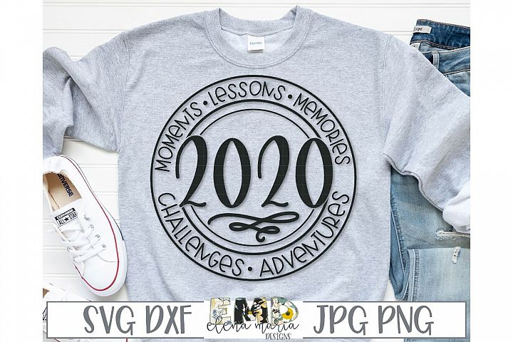 New Year 2020 Inspiration SVG