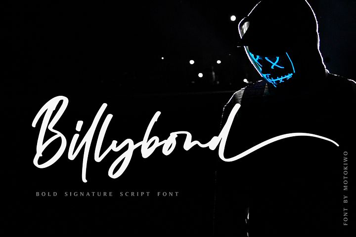Billybond - Bold Signature