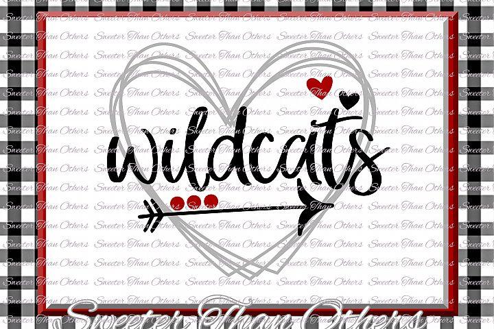 Wildcats Svg, Football Wildcat, Baseball Wildcat, Basketball