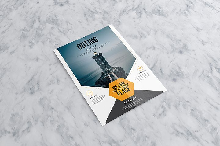 OUTING | Travel Flyer Template