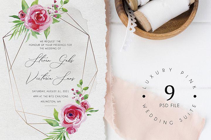 Luxury Pink Wedding Suite