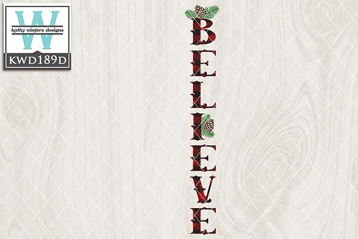Christmas SVG - Believe