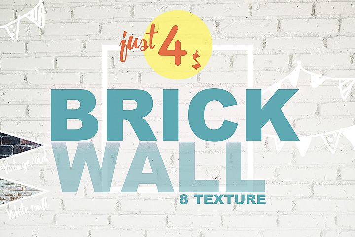 8 Brick Wall Texture Selected - edit