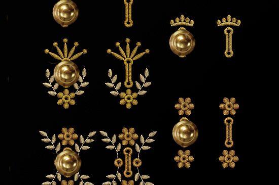 Buttonholes Set Machine Embroidery Designs