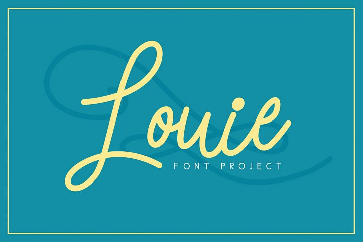 Louie Font - Free Font of The Week Font