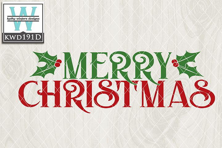 Christmas SVG - Merry Christmas