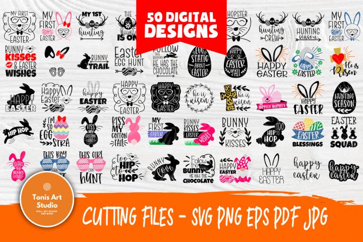 Kids Easter Quotes   SVG Bundle   Easter Svg Cut Files