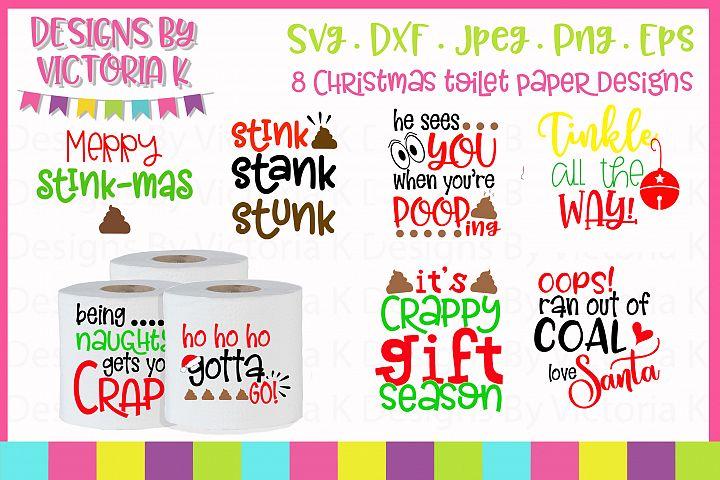 Gag gift, Toilet paper gift, SVG, DXF