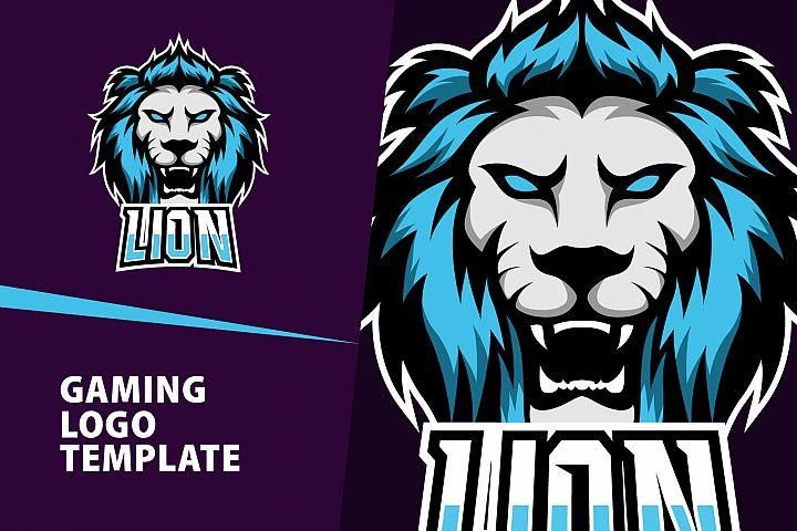 Lion Gaming Logo Template