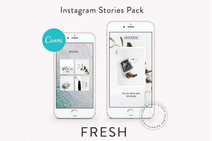 CANVA Fresh Insta Stories