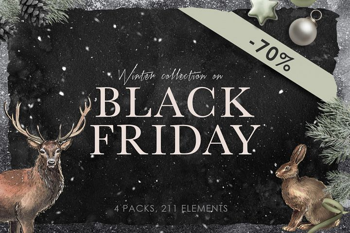 Black Friday Winter Collection