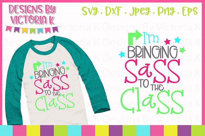 Im Bringing sass to the class, SVG, DXF, EPS, PNG