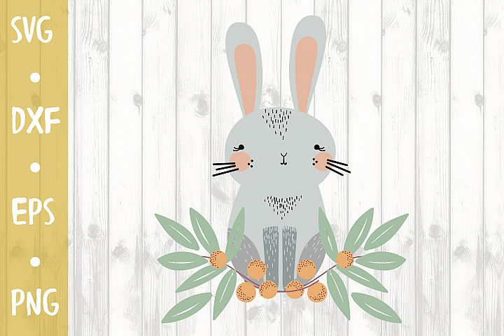 Funny Easter Bunny - SVG CUT FILE