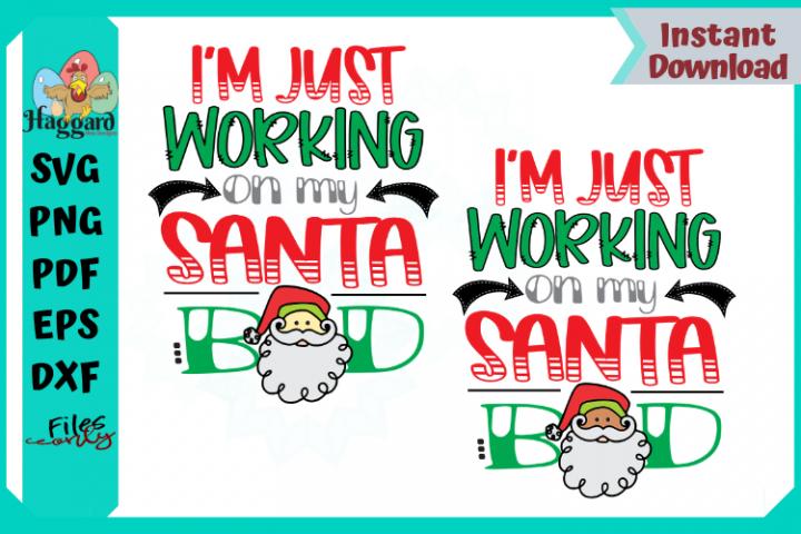 Im just working on my Santa Bod