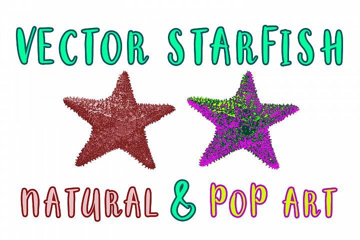 Vector Starfish