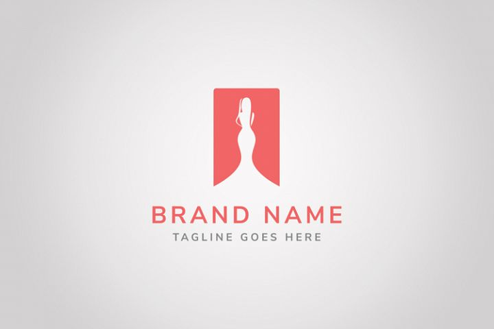 Lady Fashion Logo