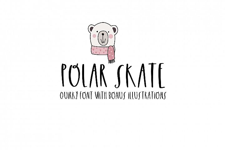 Polar Skate With Illustrations