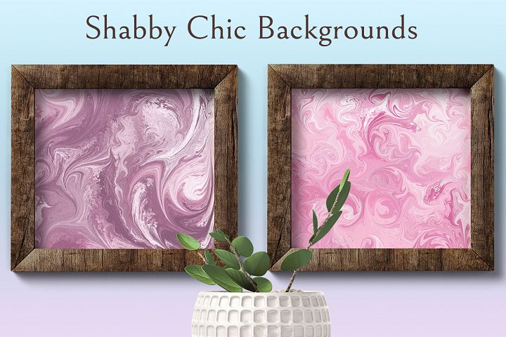 Shabby Chic Backrounds example 7